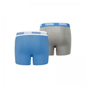 130510 PUMA BOYS BASIC BOXER 2 417 blue / grey