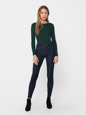 121420 Jeans Solid 177938 Dark Blu