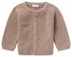 000000 U Cardigan knit Naga logo