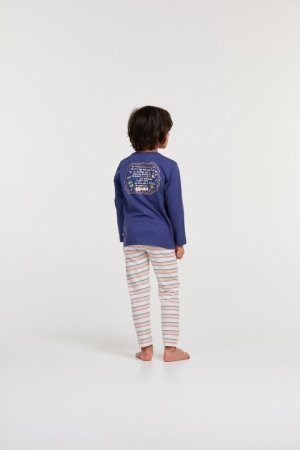 pyjama 896 donkerblauw