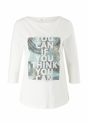 123100 1213012 [T-Shirt 3-4 Ar logo