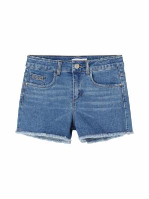 130225 Denim Shorts logo
